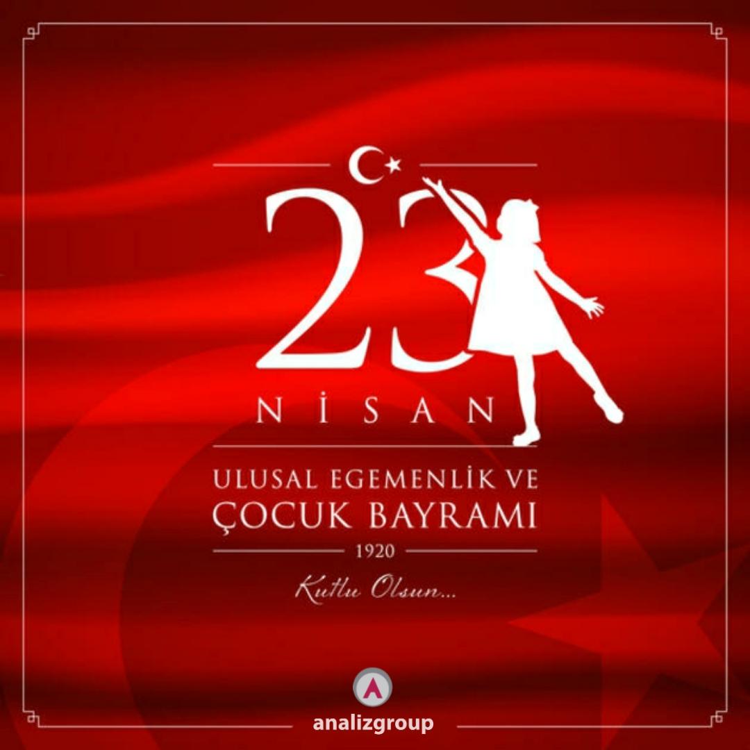 Türkiye Büyük Millet Meclisi'nin açılışının 100. yılı ve 23 Nisan Ulusal Egemenlik ve Çocuk Bayramımız Kutlu Olsun!