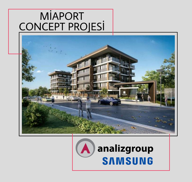 Miaport Concept Projesinde Samsung Multi Klima Sistemi Tercih Edildi
