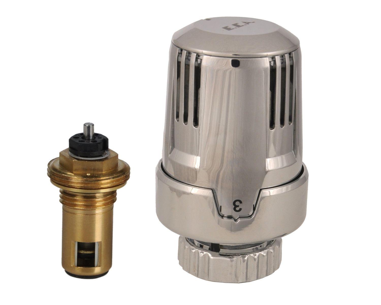 Termostatik Radyatör Valfleri - TRV2 Krom Kompakt Tip - 908