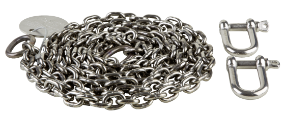 Sling chain, stainless steel