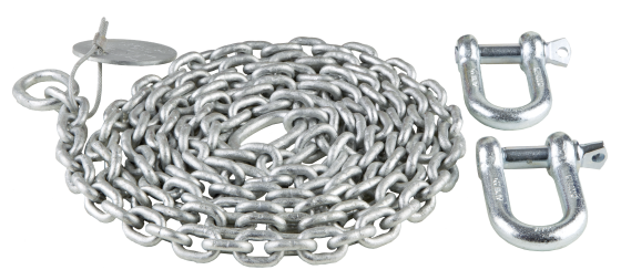 Sling chain, galvanized steel