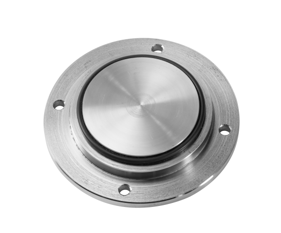 Islak rotorlu pompa kör flanşı