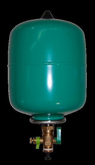 Diyaframlı basınç tankı 8 l, PN 16,