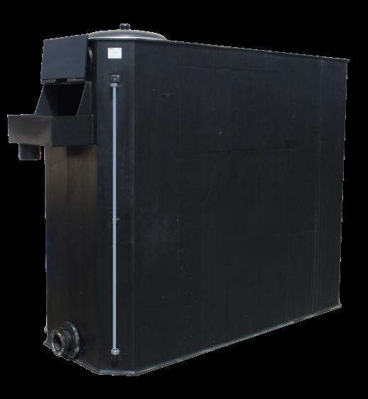 Yangın söndürme sistemleri için ön tank (köşeli model)